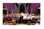 Combined choirs of CounterPoynt and WOWSingers